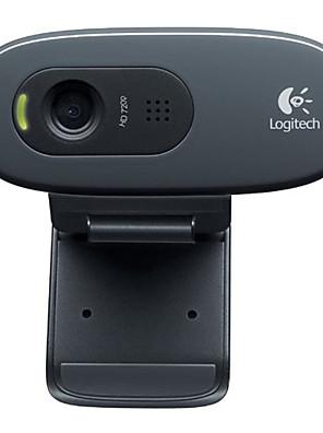 Logitech® C270 desktop notebook hjem hd webcam med mikrofon