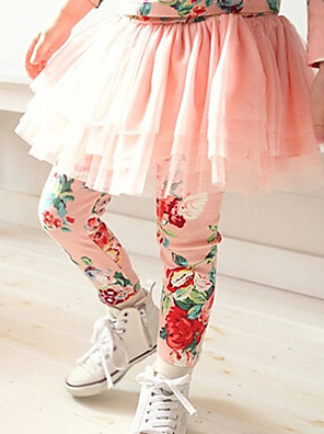 Girl's Cotton Spring/Autumn Fashion Pantskirt Culotte Pants Child Legging