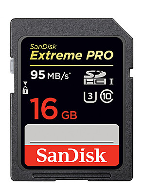 Sandisk Extreme PRO SDHC SDXC Memory Card 16GB 32GB 64GB 128GB 256GB UHS-I High Speed  (95MB/S)