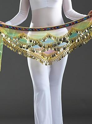 Dámské-Břišní tanec-Šátky na břišní tance(Vícebarevný,Krep,Palety barev)