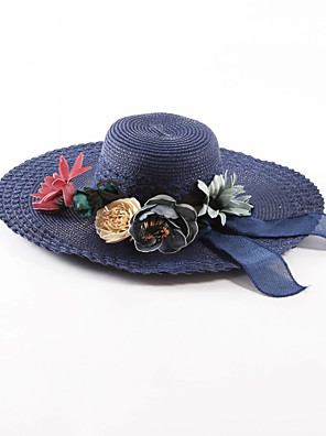 Žena Jiné Na běžné nošení Léto Sluneční klobouk