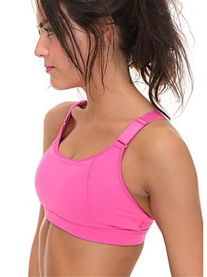 Esportivo®Ioga Sutiã / Roupa-Interior / Blusas Respirável / Tapete 3D / Sem costura / Suave Elasticidade Alta Wear SportsIoga / Pilates /