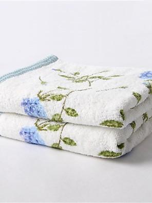 1 stk fuld bomuld håndklæde 13 med 29 tommer blomstermønster super soft