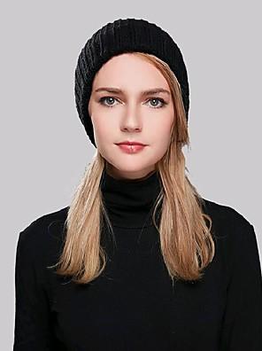 Damer Casual Vinter Beanie Akryl