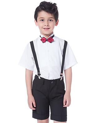 כותנה חליפה לנושא הטבעת  - 3 חתיכות כולל חולצה / מכנסיים / עניבת פרפר