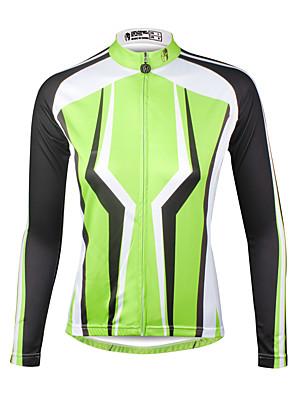 PALADIN® חולצת ג'רסי לרכיבה לנשים שרוול ארוך אופנייםנושם / ייבוש מהיר / עמיד אולטרה סגול / דחיסה / חומרים קלים / רצועות מחזירי אור / כיס