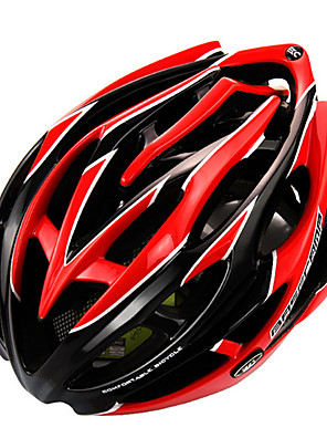 Hora / Cesta / Sporty-Unisex-Cyklistika / Horská cyklistika / Silniční cyklistika / Rekreační cyklistika-Helma(Žlutá / Bílá / Červená,PC