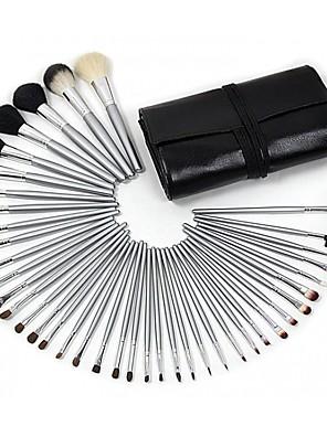 40 Conjuntos de pincel Escova de Cabelo de Cabra Profissional / Portátil Madeira Olhos / Lábio / Rosto Outros