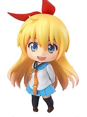 Nisekoi Kirisaki Chitoge PVC 10cm Figuras de Ação Anime modelo Brinquedos boneca Toy