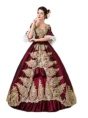 Jednodílné/Šaty Gothic Lolita / Sweet Lolita / Klasická a tradiční lolita / Punk Lolita Steampunk® / Viktoria Tarzı Cosplay Lolita šaty