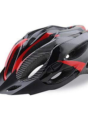 קסדה-יוניסקס-הר / ספורט / לא זמין-רכיבה על אופניים / רכיבה על אופני הרים / רכיבה בכביש / רכיבת פנאי(צהוב / לבן / אדום / כחול,PC / EPS /