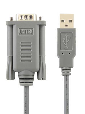 UNITEK USB2.0 til RS232 højhastigheds kabel 1.5m