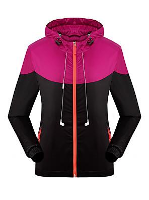 KOSHBIKE / KORAMAN® לנשים שרוול ארוך אופניים עמיד למים / שמור על חום הגוף / עמיד / מוגן מגשם / רך / חלק / נוחאימונית / מעילי רוח / ג'רזי