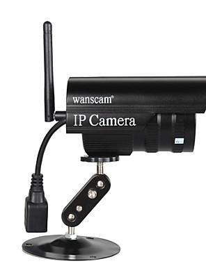 """Waterdichte draadloze Wanscam® Bullet  IP-buitencamera met gratis P2P (1/4"""" kleuren CMOS-sensor)"""