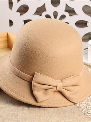 Tavasz / Ősz / Tél Party Nő Fedora kalap,Tweed