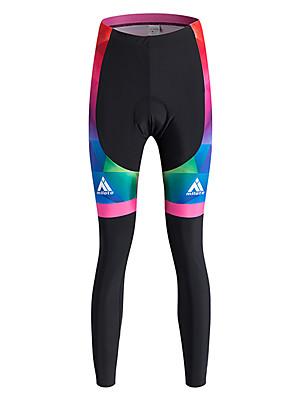 Sportovní Cyklo kalhoty DámskéProdyšné / Zahřívací / Rychleschnoucí / Větruvzdorné / Zateplená podšívka / Vysoká prodyšnost (> 15,001 g)