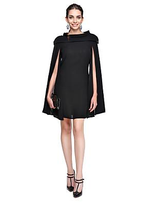 TS Couture® Cocktailparty Jurk A-lijn Met sieraad Kort / Mini Chiffon met
