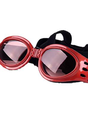 pejsky Sluneční brýle Červená / Černá Oblečení pro psy Zima / Léto / Jaro/podzim Jednobarevné Běžné/Denní / Sportovní / Rüzgar Geçirmez