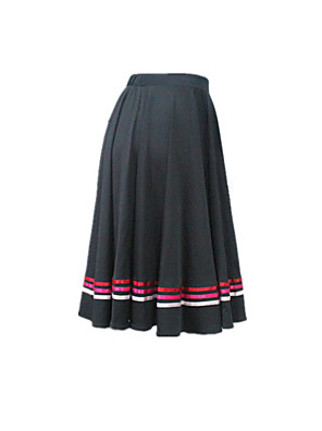 Dança Latina Fundos Mulheres / Crianças Actuação Nailon / Licra 1 Peça Saia