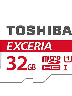 eredeti Toshiba exceria 32GB microSDHC UHS-1 memóriakártya 48m / s
