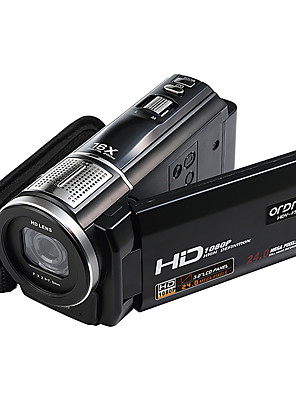 """ordro® HDV-f5 1080p digitální videokamera 3 """"dotykový displej 16x digitální zoom podpora dálkového ovládání funkce makro"""