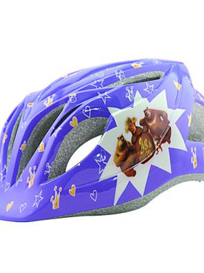 לילדים אופניים קסדה 14 פתחי אוורור רכיבת אופניים רכיבה על אופניים / רכיבה על אופני הרים / רכיבה בכביש / רכיבת פנאי / החלקהמידה אחת One