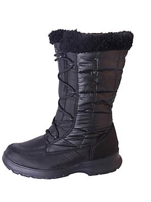 מגפיים עד אמצע השוק-לנשים-ספורט שלג(שחור / בורדו)