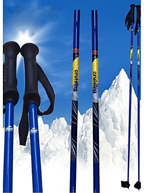 nordic blå carbon ski pol .ski sport forsyninger / grøn