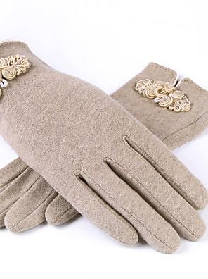 ženy vlna délka prstů zápěstí, pevná příležitostná zimní