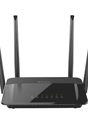Dlink dir-822 wifi bezdrátový směrovač 2,4 g / 5GHz 1200mbs podpora gigabit wifi domácnost stěna optické vlákno domácí směrovač