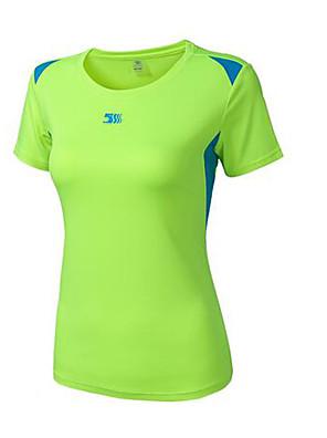 ריצה טי שירט / חולצת POLO / אימונית לגברים בלי שרוולים חדירות גבוהה לאוויר (מעל 15,000 גרם) / חומרים קלים / נמתח / תומך זיעה / נוח / מגן