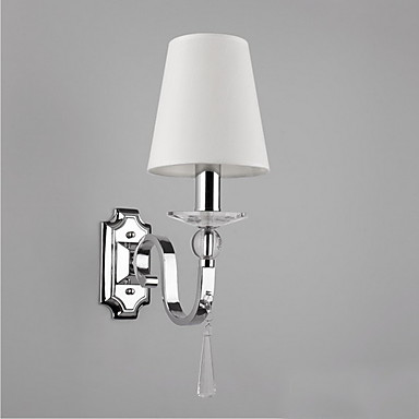 Buy Crystal Wall Sconces,Modern/Contemporary E12/E14 Metal