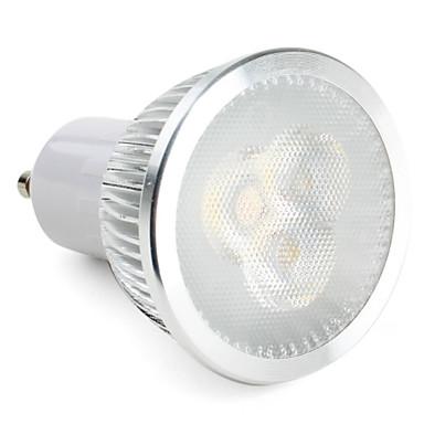 6W GU10 LED Spotlight MR16 3 High Power LED 310 lm Natural White Dimmable AC 220-240 V 276894 ...