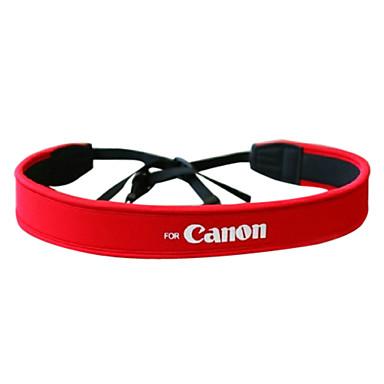 Buy Camera Full Red Neoprene Neck Strap Canon 50D 40D 30D 5D 450D 1000D