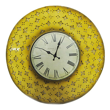 24 country style wall clock in metal 8238012 464533 2016 - Country style wall clocks ...