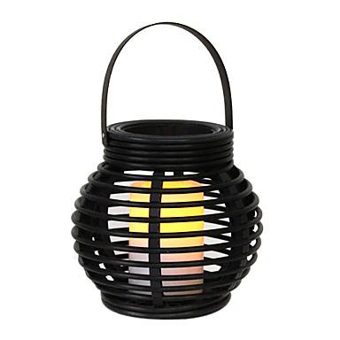 012w jaune artistique led lampe de jardin solaire en for Luminaire pour jardin