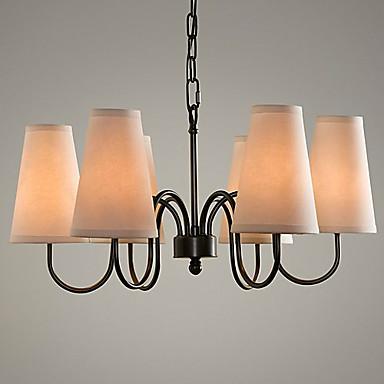 Max 60w tradizionale classico galvanizzato lampadari salotto camera da letto sala da pranzo for Lampadari da sala da pranzo