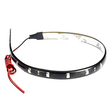 LED Light Strips 30CM, Red/White/Blue-Ray