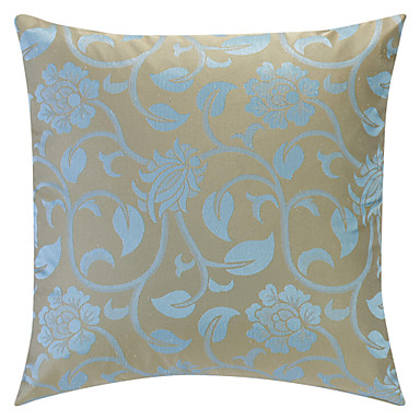 Light Blue Patterned Throw Pillow : Light Blue Jacquard Polyester Decorative Pillow Cover 590120 2016 ? $5.94