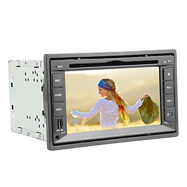6 2 pouces tft cran 2 din voiture lecteur dvd au tableau de bord avec gps de navigation lire. Black Bedroom Furniture Sets. Home Design Ideas
