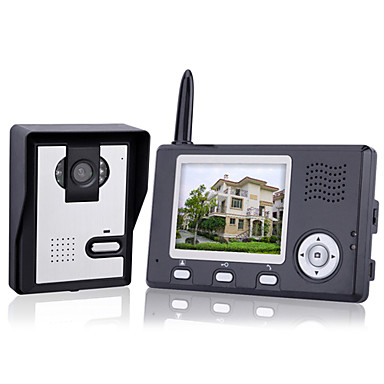 KONX® Wireless Night Vision Camera + 3.5 Inch Door Phone Monitor