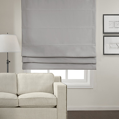 Twopages Chic Light Blackout Roman Shade 2015