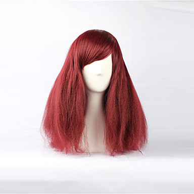 Red Bouffant Wig 84
