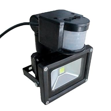 sale 10w infrared motion sensor led flood light ac110v 240v led outdoor lighting 761265 2016
