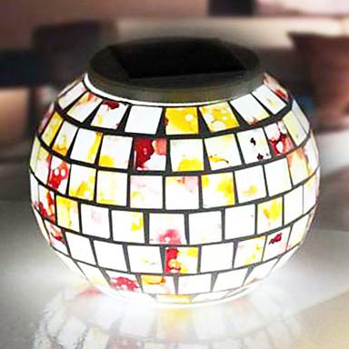 moza ek glas rgb kleur veranderende led zonne energie tuin verlichting solar light table solar. Black Bedroom Furniture Sets. Home Design Ideas