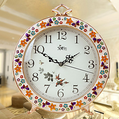 """11""""Country Style Analog Tabletop Clock"""