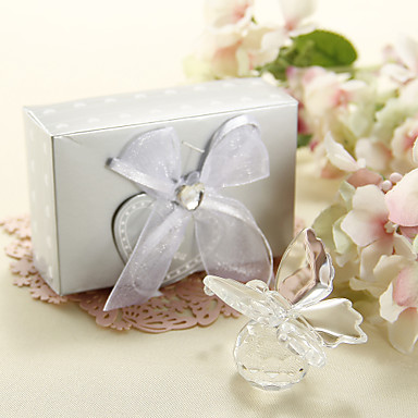 Gifts Bridesmaid Gift Clear Crystal Butterfly Wedding Favor 864310 2017 399