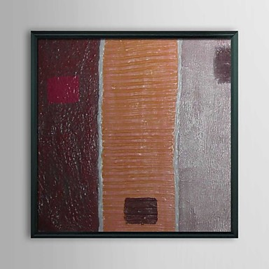 Abstract Sandwhich Framed Oil Painting