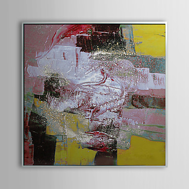 Abstract Dynamic Painting Framed Oil Painting