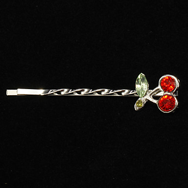 (1 Pc)Sweet Silver Alloy Hairpins For Women